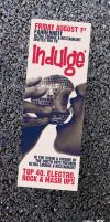 Indulge Flyer by 1NNU3NDO
