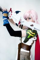 Cosplay Lightning FFXIII :4: by satsukiss