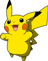 pikachu vector by paluchi