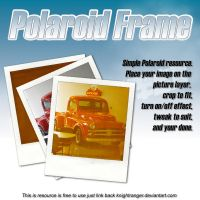 Polaroid Frame Resource v2 by KnightRanger