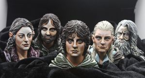 Lord of the ring_full by 2dto3dfigure