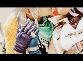 HOPE x LIGHTNING - Cosplay - Secrets by Shinkan-Seto