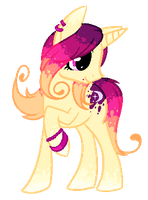 Single Pony Adoptable #6 by Inky-Adopts