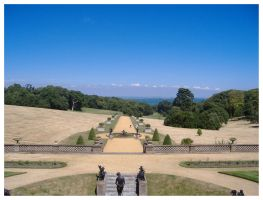 Osborne House Sea View by AndyBuck