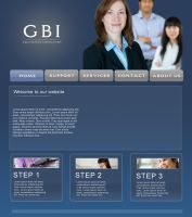 GBI Website by lucidreamz