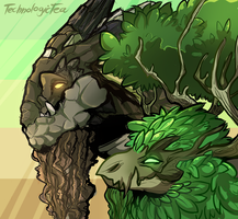 Gladekeeper and Earthshaker by TechnologicTea