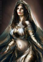 Sunless Gwynevere by nahnahnivek