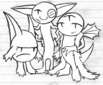 The Taffy Gang by Ickis-the-Monster