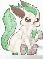 Leafeon by BrannaPants
