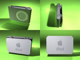 New iPod Shuffle by Pavu1on