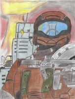 Halo 3: ODST by HTX-Wolf