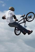 Flying Bike by Bazz-photography