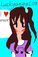 Music Lover! by luckyangel03