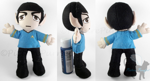 KumoriCon Commission: Spock Plushie by Meip