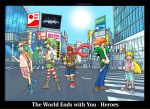 Hero Team: Shibuya Sharks by jdcunard