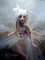 BJD ball jointed doll Summer's Garden Bunny by cdlitestudio