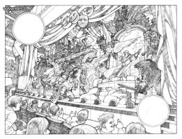 Locke And Key 01 pencils big by GabrielRodriguez