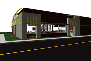 MMD - Very Accurate McDonalds Restaurant Stage DL by JJ-Panda-Chan