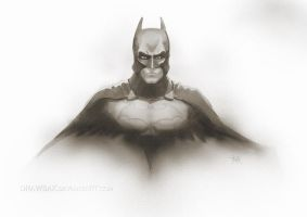 batman bale 1 by DRAWBAK