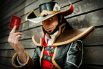 Twisted Fate Cosplay (2) by BoltFraction