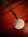 Taiwanese coin necklace by 19Dokken97