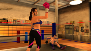 Gym Knockdown by ffists7