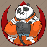 Kung Fu Dameron by Cheekydesignz