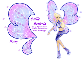 CE: Callie Believix by magicalcolourofwinx