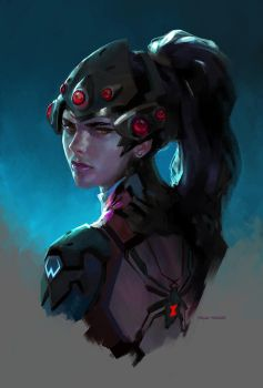 Widowmaker by merkymerx