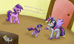 Twilight Sparkle is Our Favorite Princess!!! by Phyllismi
