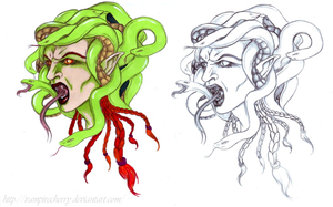 Medusa-anagram by VampireCherry