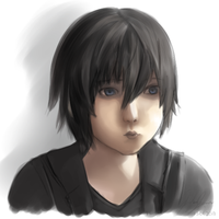 Final Fantasy XV - Pouting Noctis by Sealkittyy