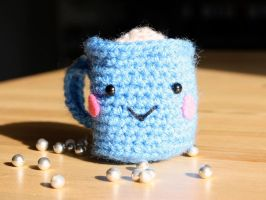 Amigurumi Cup by maedchenmitherz