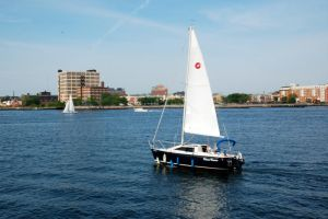 Boston Sailboat by Honest-Lies