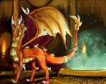 Kindle- Fire Guardian by DragonCid