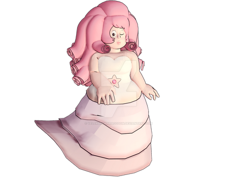 [MMD] Rose Quartz by YelenBrownRaccoon