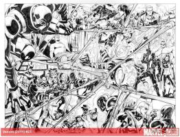 Venom#23 pages 02_03_pencil by taguiar