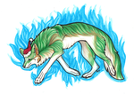 Wolf Link: merry Christmas by Ashenee