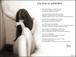 U look so vulnerable Full poem by In-Apt