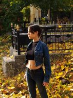 Lara Croft cosplay - jeans by TanyaCroft