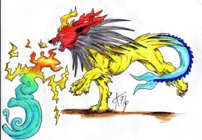 Flapoteon -The Fusion Pokemon by ARVEN92