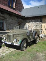 GAZ 69  4WD by Salemik