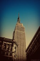 NYC - Empire State Building by achfoo