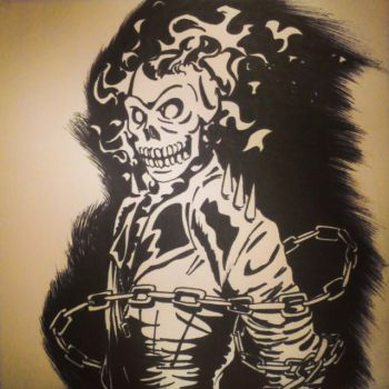 Ghost Rider Inks by theRealSEA
