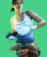 Portal 2 New Chell by AndrewTR