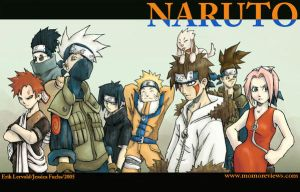 naruto and the hidden leaf gan by lervold