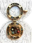 Orrery Inspired Locket/Pendant Large by Ristay