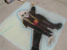 Prince Nuada-Chalk on the Walk by lexi-presents