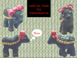 Little Ms Turtle by customlpvalley