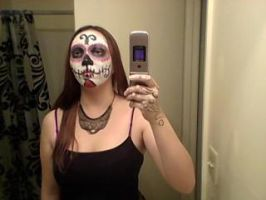 Day of the Dead Halloween Mask 1 by katamariarcher